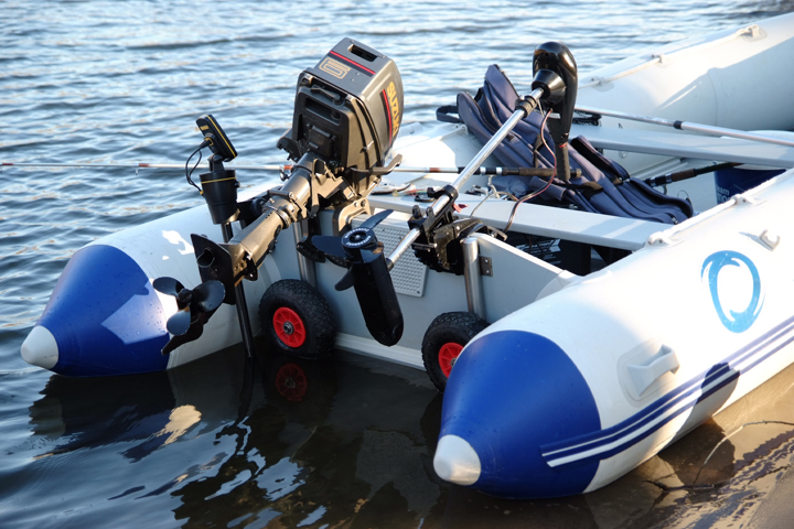транцевые колеса для моторных лодок