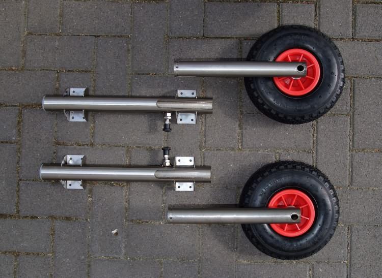 инструкцию по установке транцевых колес скачать
